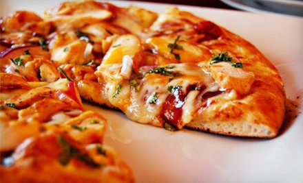 $12 for $25 Worth of Pizza, Sandwiches, and Salads at J's Pizza Market in Mentor