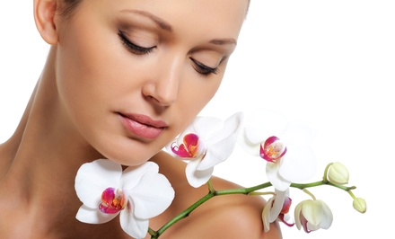 $49 for Two Microdermabrasion or Dermaplaning Treatments with Custom Organic Peels at Ellie's Skin Care ($190 Value)