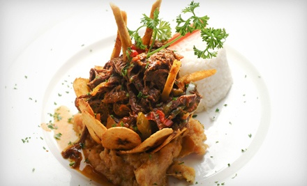 $22 for $40 Worth of Zagat-Rated Cuban Cuisine and Drinks at Guantanamera