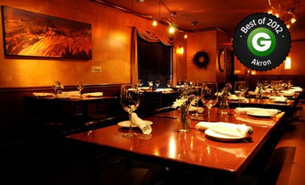 Bistro Cuisine and Drinks for Lunch or Dinner at Bistro on Main (Half Off)