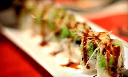 Sushi Dinner with Drinks for Two or Four at Atami Japanese Sushi Buffet (Up to 61% Off)