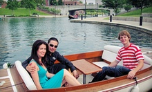 $74.99 for a 1-Hour BYOB Electric-Boat Ride for Up to 3 from Old World Gondoliers &amp; Electric Boat Tours ($150 Value)