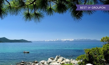 Stay at The Ridge Tahoe in Lake Tahoe, NV. Dates into June.