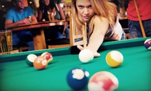 $20 for a Billiards Package for Two (Up to a $58.50 Value)