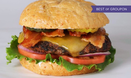 Burger Meal for Two or $10.50 for $15 Worth of Burgers, Sandwiches, and Fries at Fresh Grill