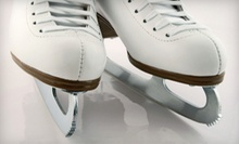 Ice-Skating with Skate Rental for Two or Four at Canlan Ice Sports (Up to 55% Off)