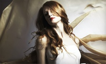 Cut and Conditioning Treatment with Partial or Full Highlights at Bishop's Salon & Day Spa (Up to 51% Off)