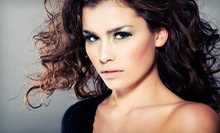 Haircut with All-Over Color or Partial or Full Highlights or Lowlights at Lomantini (Up to 53% Off)