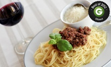 Three-Course Italian Dinner for Two or Four with a Bottle of Wine at Carmellos (Up to 54% Off)