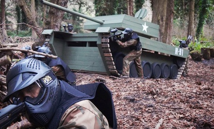 Paintball for One, Two, Four, or Eight with Gear Rental at Delta Force Paintball (Up to 66% Off)