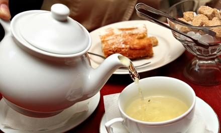 Tea Sparrow Tea Festival for Two or Four People (50% Off)