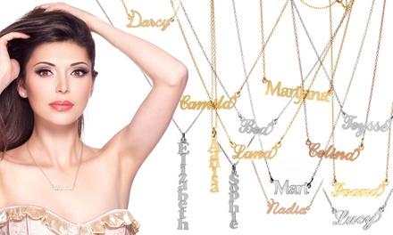 Colar Carrie Style com nome à escolha por 14,99 € ou dois colares por 21,99 €