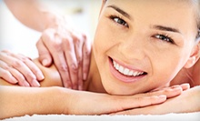 60- or 90-Minute Massage with Health Consult and HydroMassage at Amerihealth Chiropractic & Wellness (Up to 75% Off)
