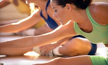 5 or 10 Group Fitness Classes at The Court Club (Up to 59% Off)
