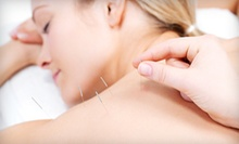 Initial Consultation with One or Three Acupuncture Sessions at Premier Alternative Health Center (Up to 71% Off)