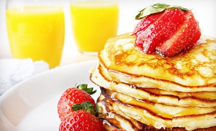 $17 for Brunch Entrees and Mimosas for Two at Rising Loafer Cafe & Bakery (Up to $34.50 Value)