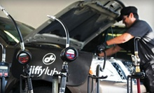 $36 for Jiffy Lube Signature Service Oil Change, Tire Rotation, and Rain-X Original Glass Treatment (Up to $73.97 Value)