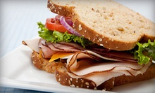 $10 for $20 Worth of Paninis and Coffee at Jitters Cafe