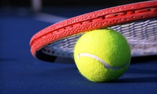 One-Hour Private Tennis Lesson for Two or Four with One Hour of Court Time at Park West Tennis Club (Up to 58% Off)