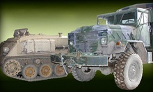$99 for a Drive A Tank Quad Package at Drive A Tank ($310 Value)