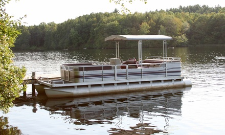 Three-Hour Pontoon-Boat Rental Monday–Friday for Up to 12 from Smokey's Bait Shop (43% Off).