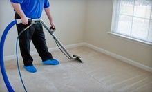 Upholstery Cleaning for a Chair and Sofa or Three Rooms of Carpet Cleaning from Totally Clean (Up to 57% Off)