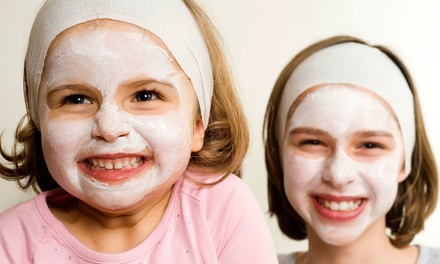 Kids' Spa Party Packages at Candy Kids Spa (Up to 51% Off). Four Options Available.