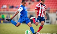 $13 for a Los Angeles Blues USL Pro Soccer Match for Two at Titan Stadium on July 4 or 21 ($25.60 Value)