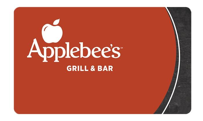 Applebees coupons groupon