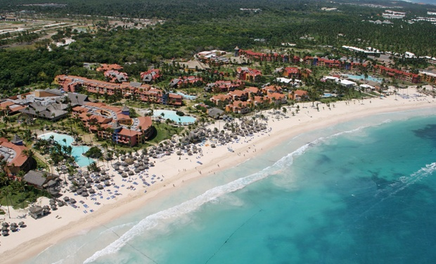 TripAlertz wants you to check out ✈ All-Inclusive Tropical Princess Beach Resort w/Air. Price per Person Based on Double Occupancy. Incl. Taxes & Fees. ✈ All-Inclusive Dominican Republic Trip with Airfare - Punta Cana Vacation with Airfare