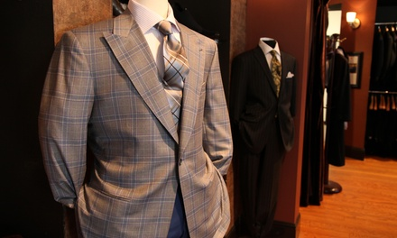 Two Custom-Made Shirts or One Two-Piece Suit at Lombardo Custom Apparel (50% Off)