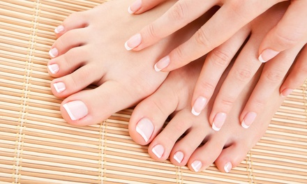Manicures and Pedicures at Davi Nails (Up to 50% Off). Two Options Available.