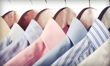 Drop-Off or Pickup-and-Delivery Dry Cleaning from Pure Cleaners (Half Off). Two Options Available.