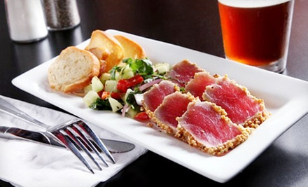 $12 for $25 Worth of Globally Inspired Tapas and Drinks at Mojo Tapas Restaurant & Bar