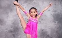 One Month of Two or Three Kids' Classes or Two Adult Classes Each Week at Universal Dance Studios (Up to 84% Off)