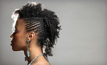 Haircut and Style, Braids, or Haircut with Weave and Style at Wye Nott Factory (Up to 51% Off)