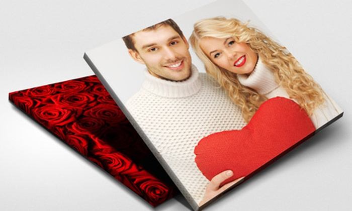 """Printerpix: Personalised Canvas Prints: 16""""x12"""" (from £12), 30""""x20"""" (from £20) or 40""""x30"""" (£25) (Up to 79% Off)"""