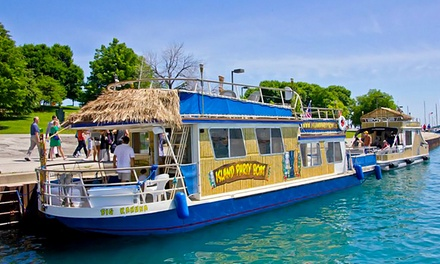 $25 for a 90-Minute Weeknight Cruise for One from Island Party Boat ($49.50 Value)