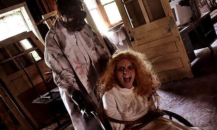 $20 for Two to Visit Camp Evans Base of Terror ($30 Value)
