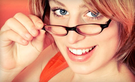 Sight-Test and Eyewear Packages at Perfect Look Optical (Up to 81% Off). Three Options Available.