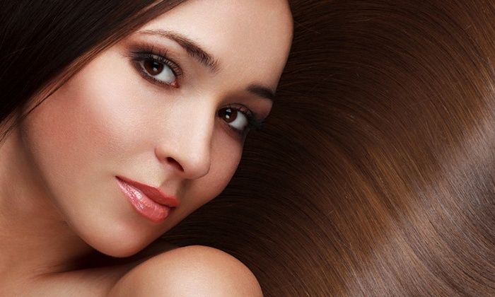 Nikkis Beauty Salon - Discovery Gardens: Organic or Brazilian Keratin Treatment, Hair Wash & more starting from AED 119