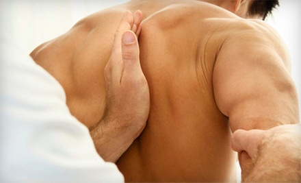 Chiropractic Exam with X-rays, Adjustment, and One or Three Massages at Chiropractic Wellness Center (Up to 91% Off)