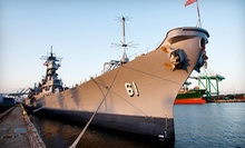 "Self-Guided Tour for Two or Four on the USS ""Iowa"" (Up to 53% Off)"