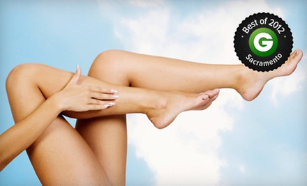 Two or Four Spider-Vein Removal Treatments at The Center for Aesthetic Medicine (Up to 72% Off)