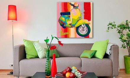 Vale de desconto de 100 € em quadro Next2art com reprodução de obra de arte por 4,99 €