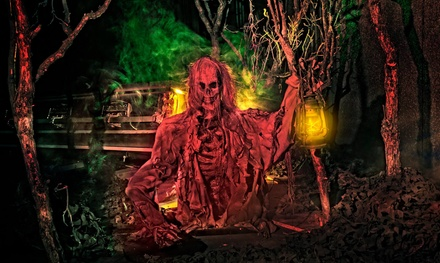 Entry to Two Haunted Houses for One, Two, or Four at Ghouls Gulch (Up to 53% Off)
