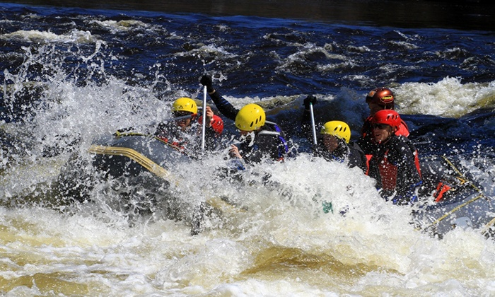 Aventure Quatre Saisons - Multiple Locations: Whitewater Rafting for One or Two People with Aventure Quatre Saisons (Up to 61% Off)