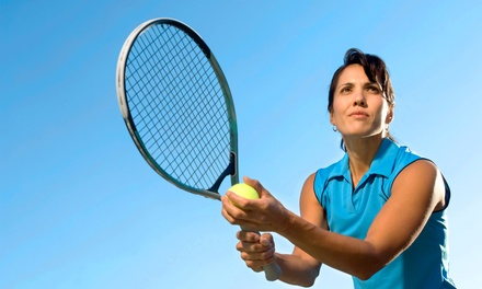 $49 for Two Private, One-Hour Tennis Lessons from Harlan Hopchik Tennis Instructor ($120 Value)