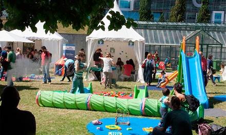 Ludopolis — Jardim Cordoaria Mar: bilhete passe de 6 dias de criança ou adulto para o festival Ludopolis desde 5,90€