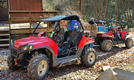 $159 for an All-Day Two-Seater Polaris Ranger ATV Rental from Durhamtown Tellico ($259 Value)
